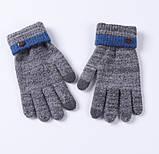 Мужские перчатки для сенсорных экранов BlueFuel blue, фото 3