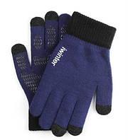 Перчатки мужские сенсорные антискользящие iWinter blue