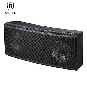 Портативная Bluetooth колонка Baseus Encok Wireless Speaker E08 с подсветкой NGE08-01 (Черная)
