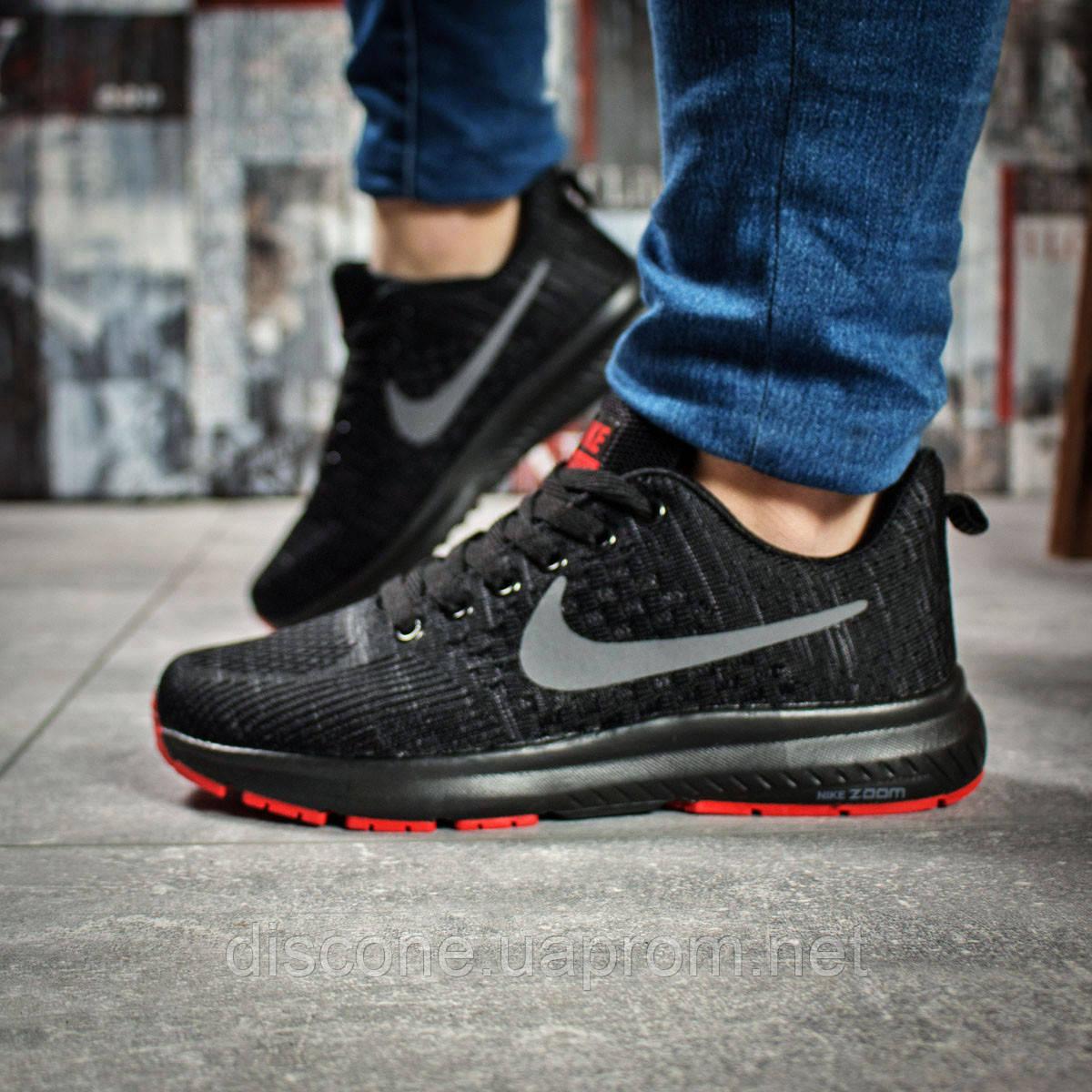 Кроссовки женские 16002 ► Nike Zoom Pegasus, черные ✅SALE! 24% [ 36 ] ► (36-23,0см)