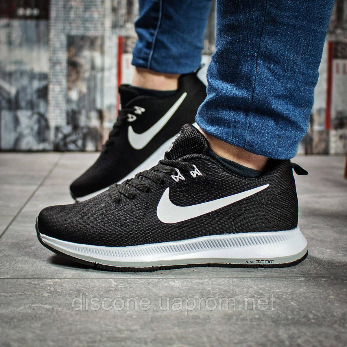 Кроссовки женские 16031 ► Nike Zoom Pegasus, черные ✅SALE! 24% [ 37 38 ] ► (37-23,0см)