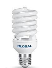 GFL-004-1 - T2 Full Spiral 25W, 4100K, E27 NFSC GLF Энергосберегающие лампы GLOBAL (Глобал)