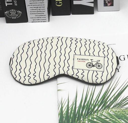 Маска для сна охлаждающая с гелевой вставкой Happy EveryDay Bicycle