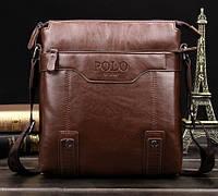 Мужская сумка через плечо Polo Protector brown