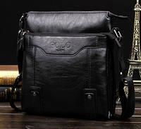 Мужская сумка через плечо Polo Protector black