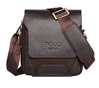 Мужская сумка через плечо Polo Pride Saenn brown