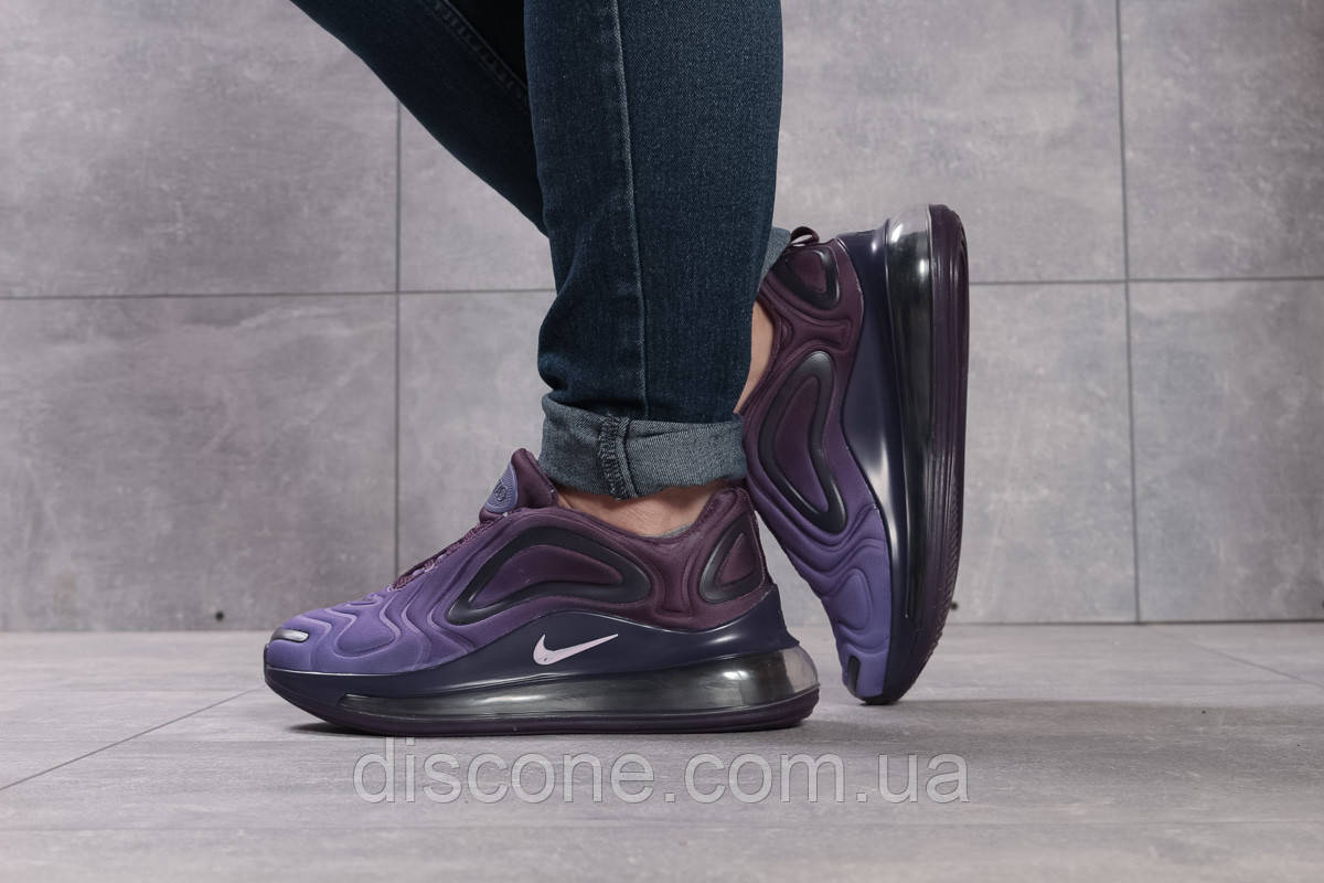 Кроссовки женские 16133 ► Nike Air 720, фиолетовые ✅Скидка 25% [ 40 ] ► (40-25,8см)