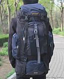 Туристический рюкзак 80 L Asinaidi dark blue, фото 2