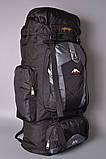 Туристический рюкзак 80 L Asinaidi dark blue, фото 3