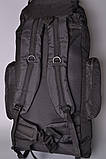 Туристический рюкзак 80 L Asinaidi dark blue, фото 4