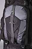 Туристический рюкзак 80 L Asinaidi dark blue, фото 7