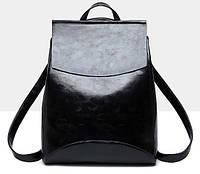 Женская сумка-рюкзак трансформер Rosso black