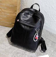 Городской рюкзак женский Stitch black