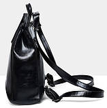 Женская сумка-рюкзак трансформер Rosso bordo, фото 4