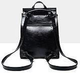 Женская сумка-рюкзак трансформер Rosso bordo, фото 5