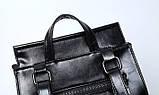 Женская сумка-рюкзак трансформер Rosso bordo, фото 7