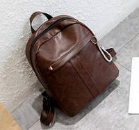 Городской рюкзак женский Stitch brown