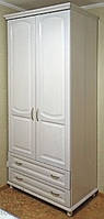 "Шкаф деревянный белый ""Дуэт-1"" sh2.1"