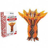 """Модульное оригами """"Ваза для цветов"""" 560м (24)"""