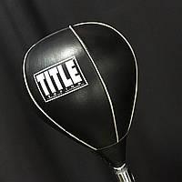 Кожаная груша TITLE Professional Reflex Bag, фото 1