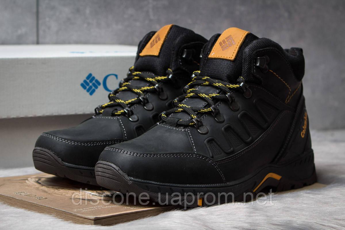 Зимние мужские ботинки 30701 ► Columbia TRACK, черные ✅SALE! 47% [ 40 ] ► (40-26,5см)