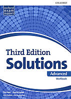 Рабочая тетрадь Solutions Third Edition Advanced Workbook