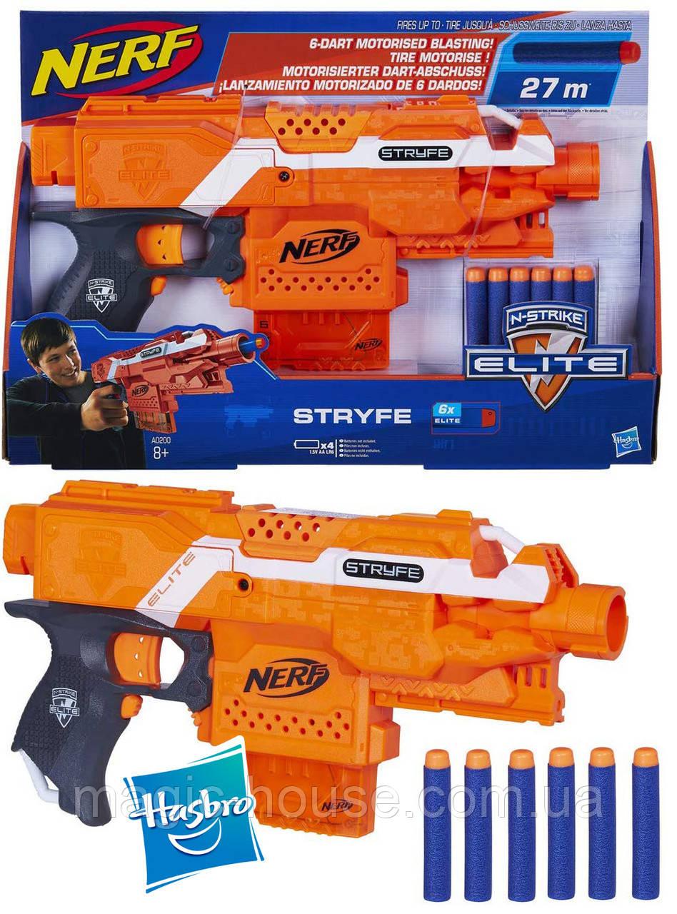 NERFБластер Нерф Страйф N-Strike Elite Stryfe BlasterОригиналот HASBRO