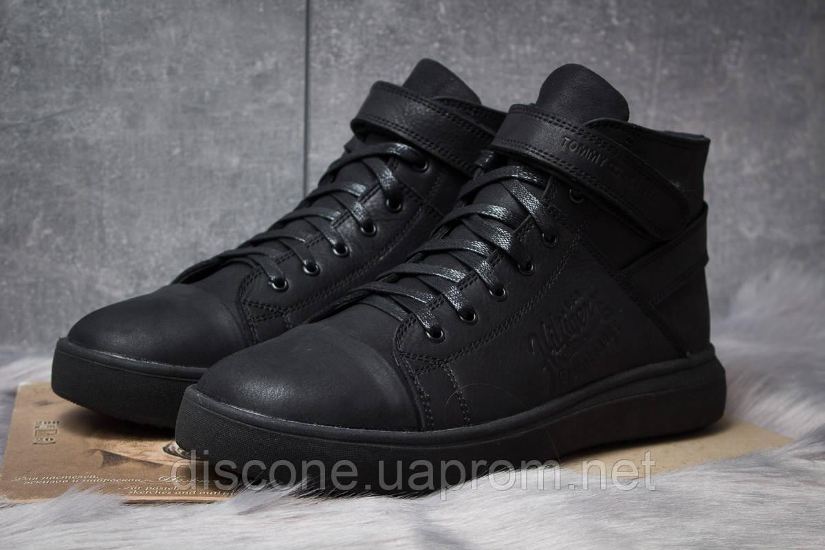 Зимние мужские ботинки 30901 ► Hilfiger Denim, черные ✅SALE! 39% [ 43 ] ► (43-28,8см)