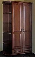 """Шкаф деревянный с радиусными полками """"Дуэт"""" sh2.2"""