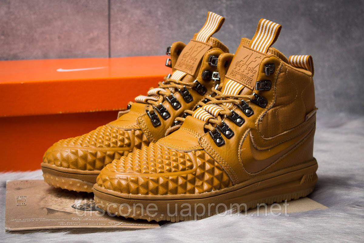 Зимние мужские кроссовки 30917 ► Nike LF1 Duckboot, рыжие ✅SALE! 25% [ 44 45 ] ► (44-28,6см)