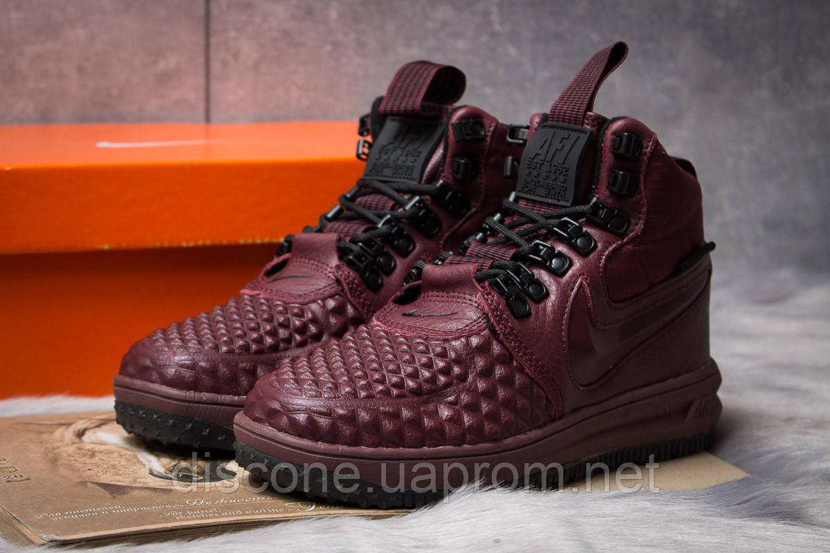 Зимние женские кроссовки 30926 ► Nike LF1 Duckboot, бордовые ✅SALE! 20% [ 36 ] ► (36-23,0см)