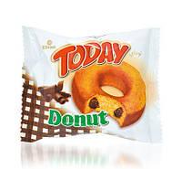 Пончик Today Donut с шоколадом, 50 г. (Донат с шоколадом)
