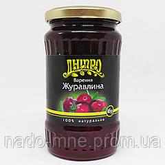 Варенье Клюква, 395 г ТМ Дніпро