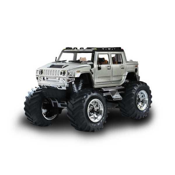Джип микро р/у 1:43 Hummer (серый)