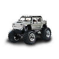 Джип микро р/у 1:43 Hummer (серый), фото 1