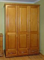 """Шкаф деревянный для одежды """"Трио-3"""" sh3.3"""