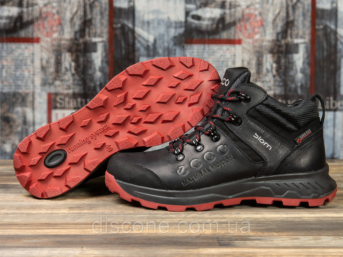Зимние мужские ботинки 31181 ► Ecco Biom, черные ✅SALE! 39% [ 40 42 43 44 ] ► (40-26,5см)