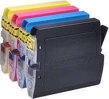 Набор картриджей Brother LC1000/LC970 (черный, пурпурный, желтый, голубой)