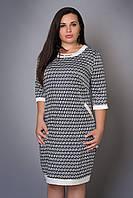 Стильное женское платье модного принта