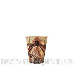 Бумажные стаканы Следуй за мной 175мл 50шт.уп (1ящ/54уп/2700шт) КР 69