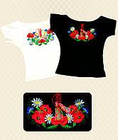 Блуза-вышиванка для девочки вискоза