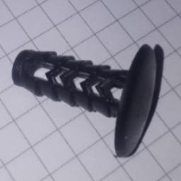 Клипса крепления держатель обшивки багажника андапка №42 Daewoo Део Fiat Фиат Форд Ford Опель Opel