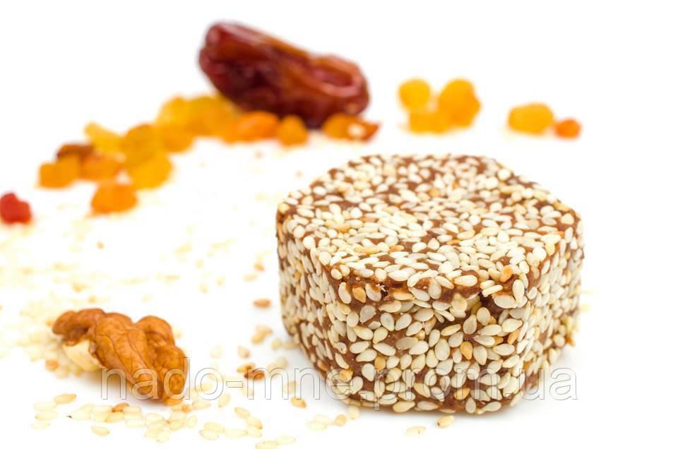 Десерты из сухофруктов и орехов, Кунжут, 40г
