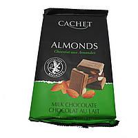 Шоколад Cachet Milk Almonds (300 г), фото 1