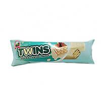 Вафли twins со вкусом тирамису в белой глазури, фото 1