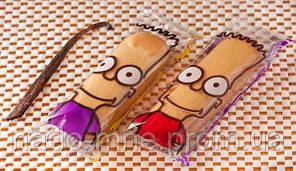 Бисквитное печенье Симпсон (симпатяшки-ваниль), 1,3 кг (33 шт)