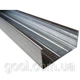 Профиль оцинкованный для гипсокартона CW 50/50/3 м.п. толщина металла 0,45мм