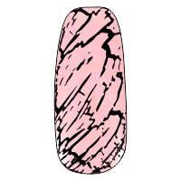 NE-6T Трескающийся лак для ногтей №11 (розовый)