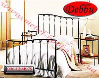 """Односпальная кованая кровать """"Дебби"""""""
