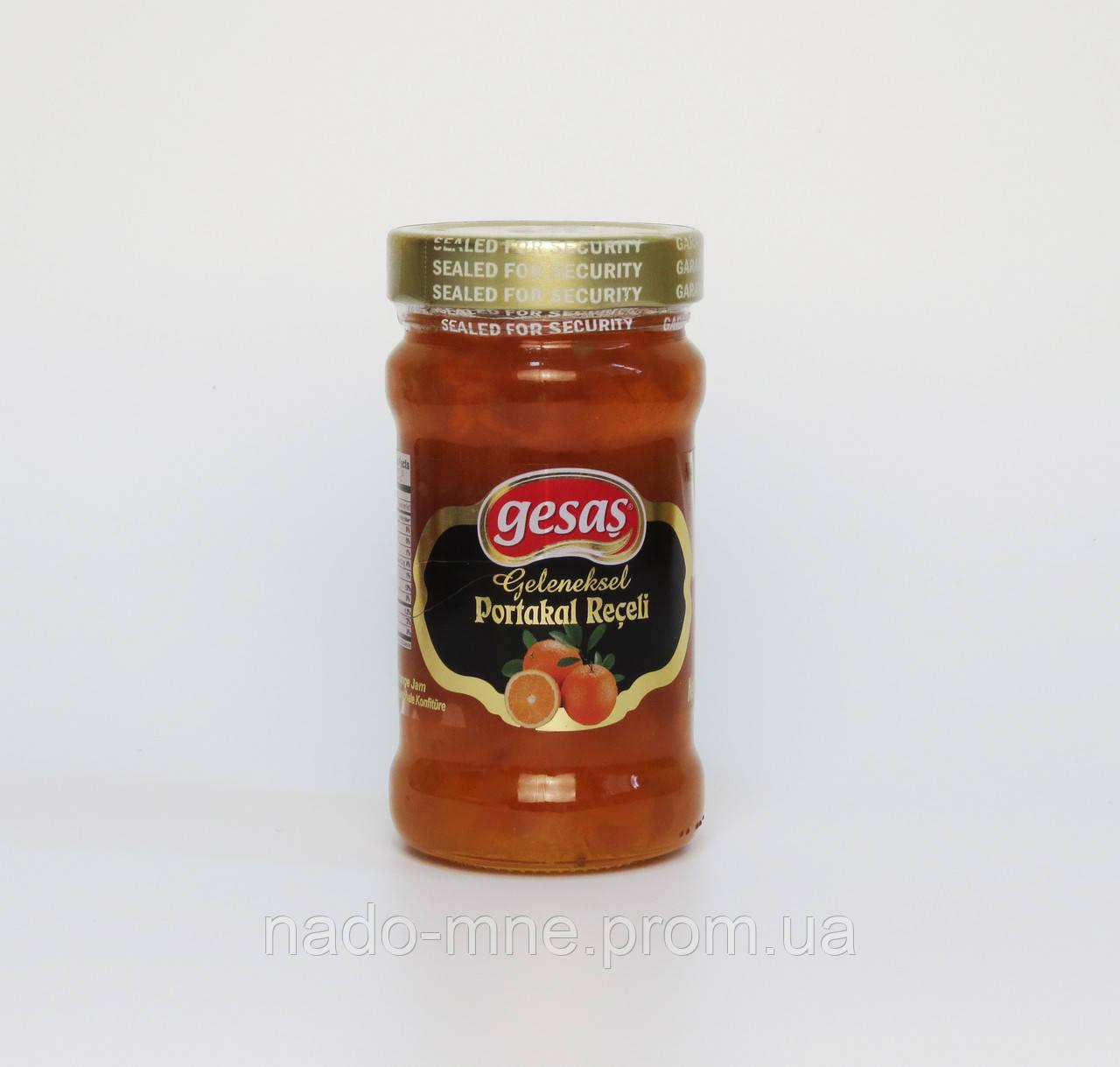 Джем из Апельсина Gesas, Турция 380 гр.